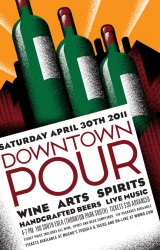 Downtown Pour poster