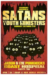 Satan's Youth Ministers Show Flier