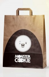 Monster Cookie Shopping Bag