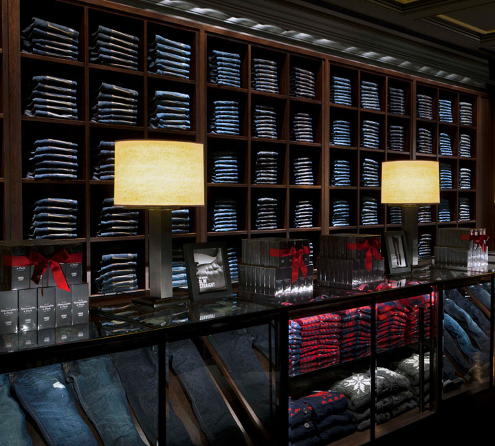 Abercrombie fitch flagship store for Abercrombie interior design and decoration
