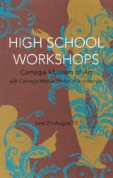 Carnegie Museums of Art High School Workshops