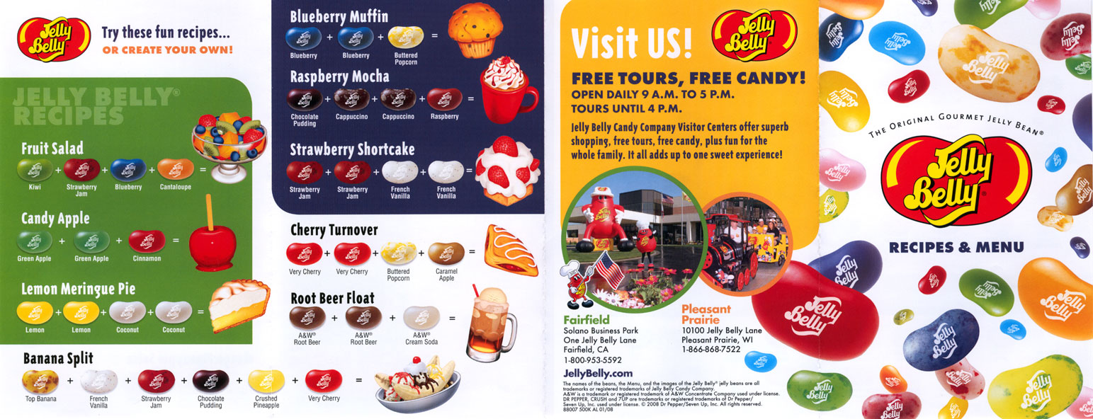 Jelly Belly Mixing Flavors Chart Best Cars 2018