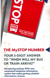 RTD (The MySTOP NUMBER)