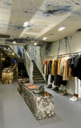 Raf Simons flagship store