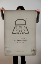 Star Wars (May the Force of Typography be with you)