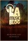 LA MUSIC BLOG POSTER DESIGN