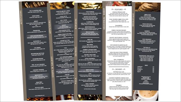 the arbuthnot group s pub menus